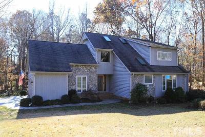 Raleigh Single Family Home For Sale: 11909 Pembridge Lane