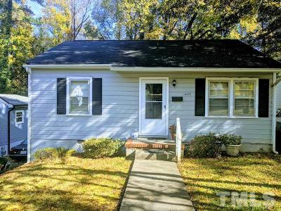 Durham Single Family Home Contingent: 1406 Sedgefield Street