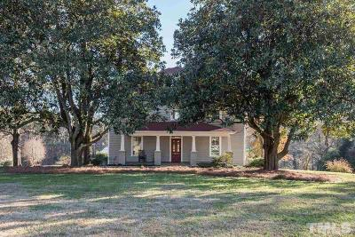Apex Single Family Home For Sale: 3201 Olive Chapel Road