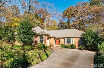 Chapel Hill Single Family Home For Sale: 5 St James Place