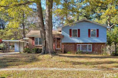Raleigh Single Family Home Contingent: 2216 Shenandoah Road