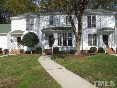 Cary Townhouse For Sale: 125 Pickett Lane
