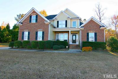Clayton Single Family Home For Sale: 448 Kintyre Drive