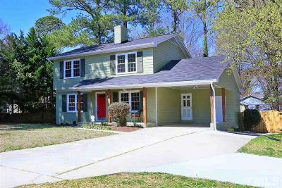 Raleigh Single Family Home For Sale: 433 E Millbrook Road