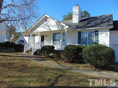 Creedmoor Single Family Home Contingent: 2753 Joyce Court