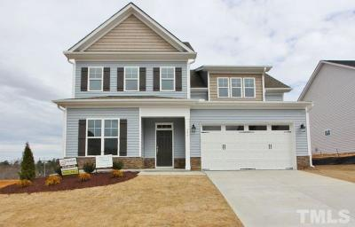 Wake Forest Single Family Home For Sale: 356 Cascade Hills Lane