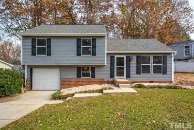 Cary Single Family Home Pending: 103 Cricket Hill Lane