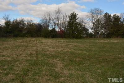 Chatham County Residential Lots & Land For Sale: 1735 Ed Clapp Road