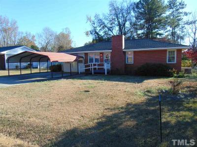 Johnston County Single Family Home Pending: 311 Pace Street