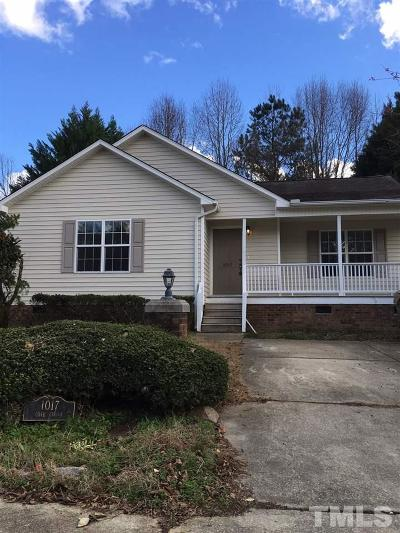 Johnston County Rental For Rent: 1017 Cove Circle