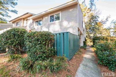 Raleigh Condo Contingent: 4715 Walden Pond Drive #D