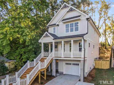 Durham Single Family Home Contingent: 1205 Scout Drive