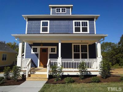 Durham Single Family Home For Sale: 2509 Francis Street