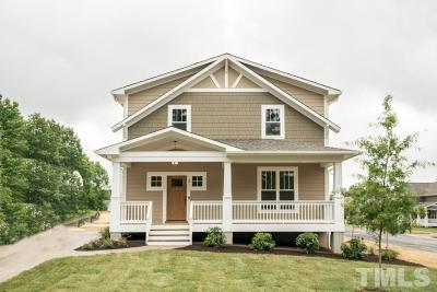 Durham Single Family Home For Sale: 2505 Francis Street