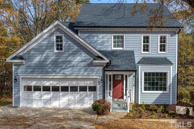 Cary Single Family Home Pending: 118 Carostone Court