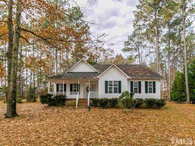Wake Forest Single Family Home For Sale: 1231 Woodland Church Road
