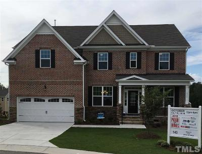 Durham County Single Family Home For Sale: 1004 Crescent Moon Court #Homesite