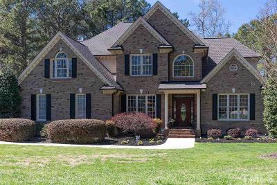 Wake Forest NC Single Family Home For Sale: $620,000