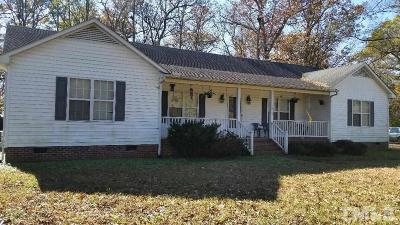 Durham Single Family Home Contingent: 3809 Pickett Road