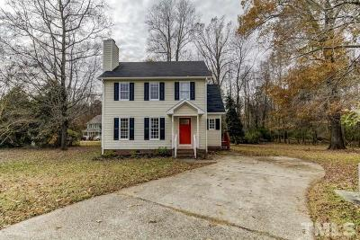 Knightdale Single Family Home For Sale: 604 Boniface Court