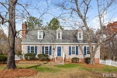 Wake Forest Single Family Home For Sale: 3105 Billiard Court