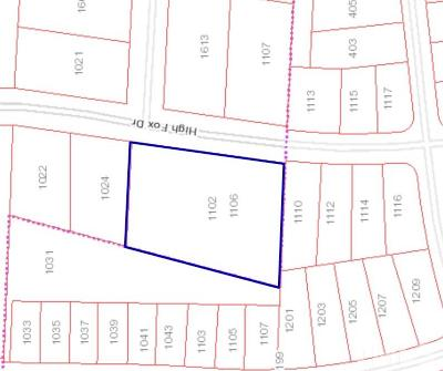 Durham County Residential Lots & Land Contingent: 1106 High Fox Drive