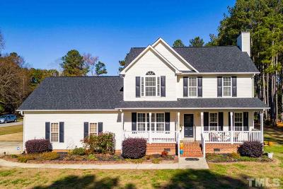 Garner Single Family Home Contingent: 404 Mather Court