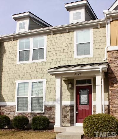 Morrisville Rental For Rent: 2420 Historic Circle