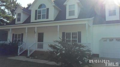 Johnston County Rental For Rent: 131 Sequoia Drive