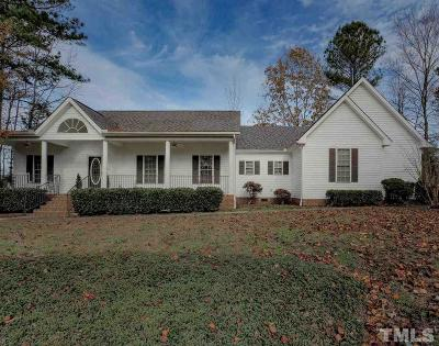 Clayton Single Family Home For Sale: 104 Brigsley Circle