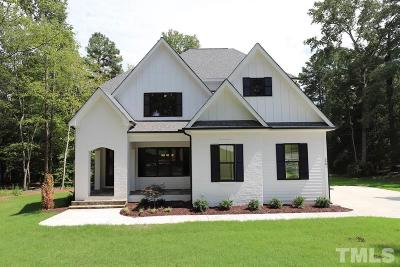 Raleigh Single Family Home For Sale: 3901 Littlefield Court