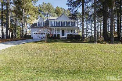 Angier Single Family Home Contingent: 153 Cabin Grove Court