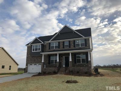 Mebane Single Family Home Pending: 307 Brinkley Circle