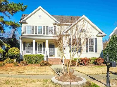 Holly Springs Single Family Home Pending: 233 Elmcrest Drive