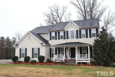 Rolesville Single Family Home Pending: 655 Pristine Lane