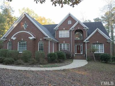 Raleigh Single Family Home For Sale: 5720 Thistleton Lane