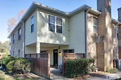 Chapel Hill Condo Contingent: 409 Summerwalk Circle #409