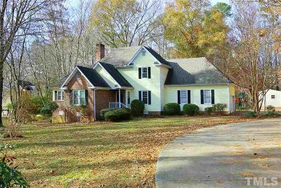 Wake County Single Family Home For Sale: 8105 Iron Bark Court