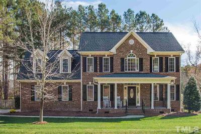 Raleigh Single Family Home Contingent: 1229 Turner Woods Drive