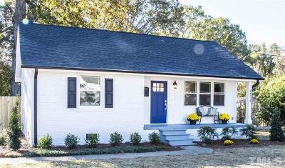 Raleigh Single Family Home For Sale: 2210 Milburnie Road