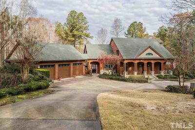 Apex Single Family Home For Sale: 636 Wooded Lake Drive