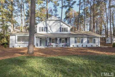 Raleigh Single Family Home Pending: 1608 Westhaven Drive