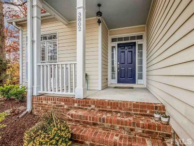 Durham Single Family Home For Sale: 3802 Sunningdale Way