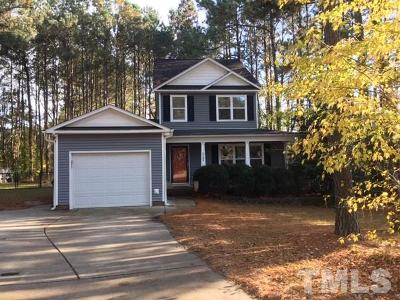 Raleigh Single Family Home For Sale: 2708 Daniels Landing Drive