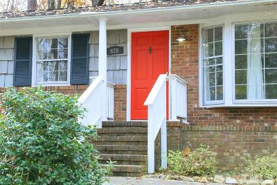 Chapel Hill Single Family Home For Sale: 628 Tinkerbell Road