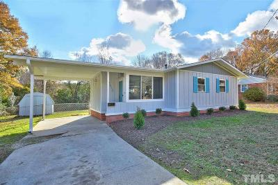 Raleigh Single Family Home For Sale: 2512 Remington Road