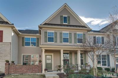Raleigh Townhouse For Sale: 9204 Semana Walk