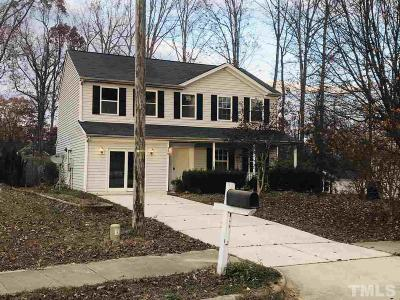 Raleigh Single Family Home Contingent: 3201 Mango Drive