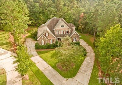 Wake County Single Family Home For Sale: 3201 Mossy Ridge Court