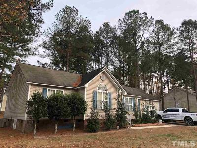 Wendell Single Family Home Contingent: 212 Wood Green Drive